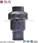 JIS PVC Single Union Ball Check Valve
