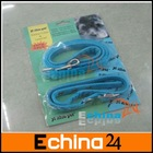 Dogs blue rubber collar