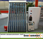 Split high pressure Solar collector system project SS-M1/ SS-M2 300L
