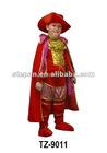 TZ-9011 Red King Halloween Costume For Children