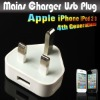 Mains Charger Usb Plug Adapter For Apple iPhone iPod 2 3 4th Generations