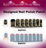 Designed Nail Polish Patch