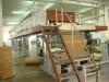 Label paper coating machine