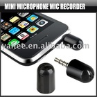 Mini Microphone MIC Recorded for iPod Nano Touch iPhone,YAP400A