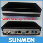 SV8860 SV8860(432) @ 607MHz HDMI Internet Live TV Box