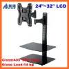 LCD Bracket Mount with DVD Mount