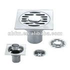 Stainless steel Square Shower floor drain