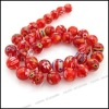 cheap millefiori glass beads necklace can DIY jewellery making beads110343