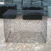 Plastic coated gabion box