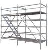EN12810 ringlock standard scaffolding frame