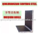 unequal angle steel(SS400,Q235,etc)