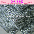 metallic mesh---Silver black 601