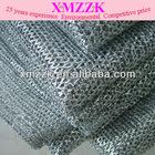 metallic mesh---Silver black 601