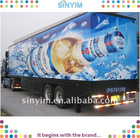 3D Car sticker for beer Floating Promotion