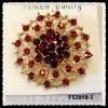 2012 best selling rhinestone brooch