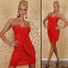 New !!!Red Color Western Style Lady Evening Dress