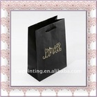 Black Luxury Paper Shopping Bag