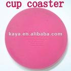 Plastic coffee cup mats