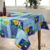 Printed cotton table cloth(home textile)