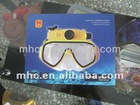 underwater camera_ms21 HD WP720 underwater digital camera mask. with silicon gel Mask