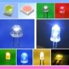 super brightness 5mm white LED