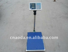 300kgs big meter display 400*500 digital platform scales for weighing