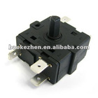 Rotary selector switch 2-6 ways for oven,braker,fan heater,Juicer,etc,household appliances