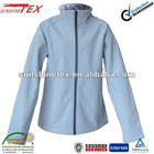 High quality Female Windproof Waterproof softshell bonded polar fleece jackets outdoor sportswear clothing(12A055)