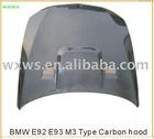 Car hood,car bonnet for B/M/W ,E92 E93 M3 Carbon hood