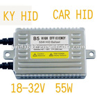 High Efficiency HID Lighting ballast 55W