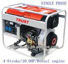 5.0/5.3KVA 4-Stroke/6.5Hp Diesel Generator