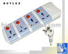 ASPA-12014-way multi-function Socket