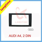 car refitting dvd frame/front bezel/audio panel for 2006 Audio A4, 2DIN