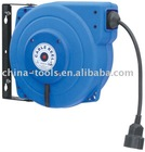 pvc or rubber cabel reel with plug and socket