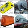 sixth generation silver/blue color waste tyre recycling plant