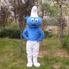 2012 top sale adult smurf mascot costume