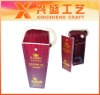 2012 Luxury classic annatto wooden wine box