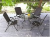 garden rattan chairs set