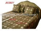 High quality embroidery silk bedding sets