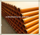 DN150,DN125, DN100 Concrete Pump Steel Pipe
