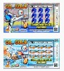Full Color Printed Scratch off Lottery Card