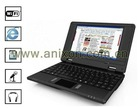 "The Cheapet (V38) New Arrival 7"" laptop Via WM8650 800MHz, Memory 256MB, 2GB HDD, Free shipping Mini Laptop"