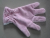 microfiber pet glove (pet cleaning glove,pet drying glove)