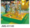 2012 JMQ-K114D themed soft play equipment,baby indoor soft play equipment,preschool indoor playing equipment
