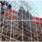 Folding truss for concert
