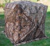 Camouflage camping tent , duck blind