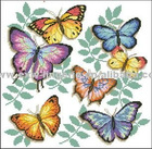 Oriental Butterfly cross stitch