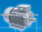 Aluminium frame induction electric motor