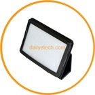 For Samsung Galaxy Tab 7.7 Tablet Case Leather Folio BLack Cover w/ STAND P6800