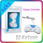White ABS Classic controller for Wii